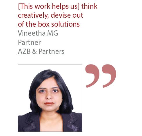 Vineetha MG Partner AZB & Partners