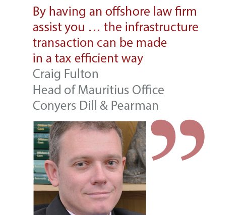 Craig Fulton Head of Mauritius Office Conyers Dill & Pearman