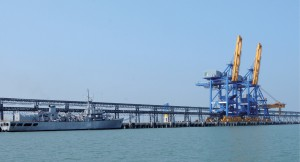 The source of the dispute: Dhamra port, of which Tata owns 50%, is situated in the Indian state of Orissa.