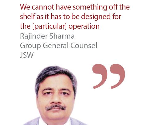 Rajinder Sharma Group General Counsel JSW