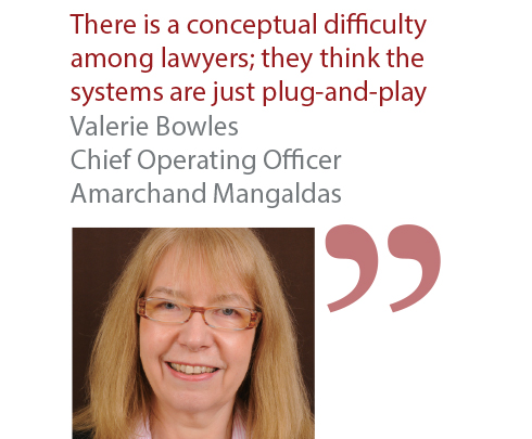 Valerie Bowles Chief Operating Officer Amarchand Mangaldas