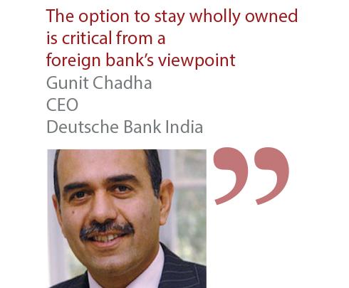 Gunit Chadha CEO Deutsche Bank India