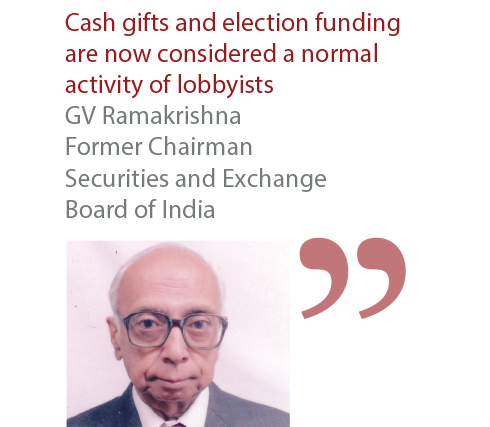 GV Ramakrishna Former Chairman Securities and Exchange Board of India