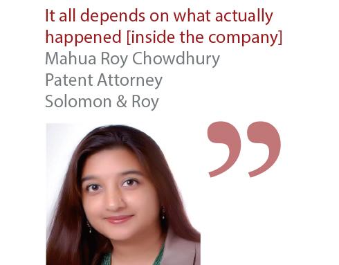 Mahua Roy Chowdhury Patent Attorney Solomon & Roy