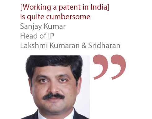 Sanjay Kumar Head of IP Lakshmi Kumaran & Sridharan