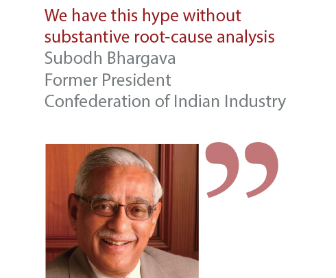 Subodh Bhargava Former President Confederation of Indian Industry