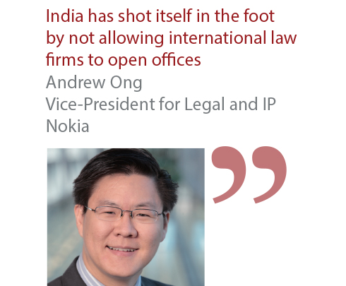 Andrew Ong Vice-President for Legal and IP Nokia