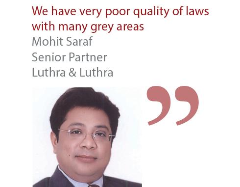 Mohit Saraf Senior Partner Luthra & Luthra