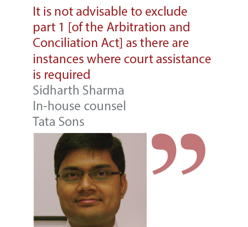 Sidharth Sharma In-house counsel Tata Sons