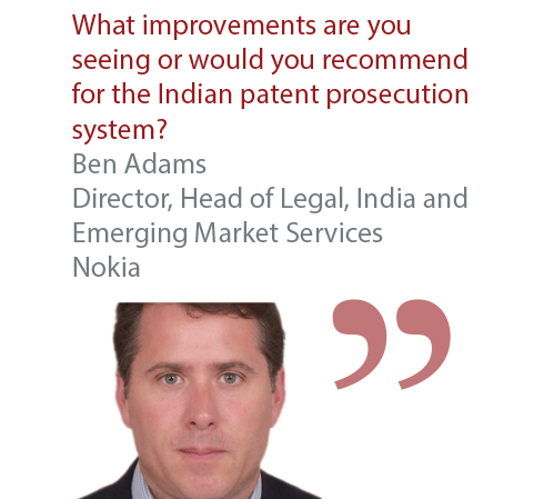 Ben Adams Director, Head of Legal, India and Emerging Market Services Nokia