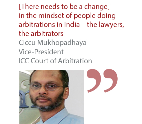 Ciccu Mukhopadhaya Vice-President ICC Court of Arbitration