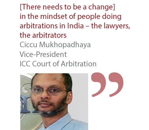 Ciccu Mukhopadhaya Vice-President ICC Court of Arbitration