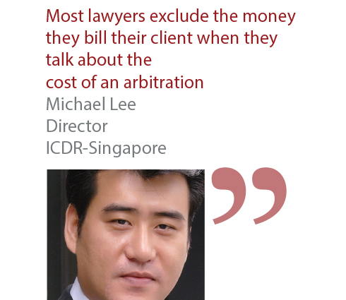 Michael Lee Director ICDR-Singapore