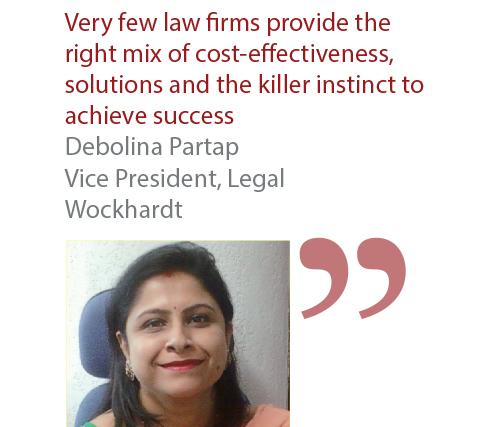 Debolina Partap Vice President, Legal Wockhardt