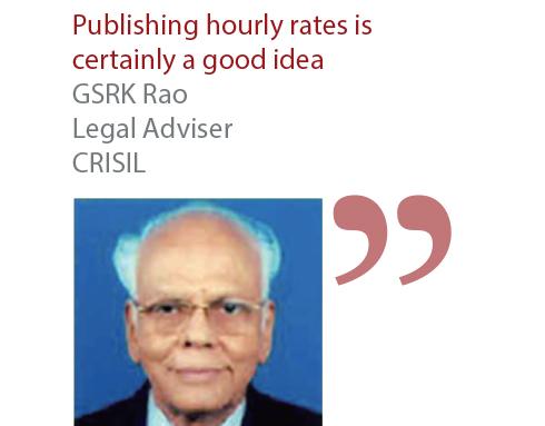 GSRK Rao Legal Adviser CRISIL