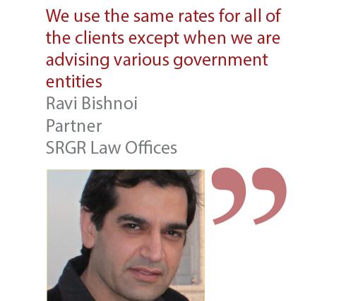 Ravi Bishnoi Partner SRGR Law Offices