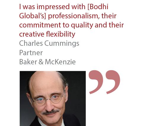 Charles Cummings Partner Baker & McKenzie