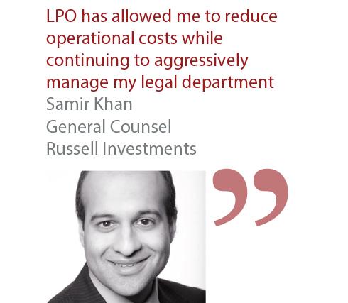 Samir Khan General Counsel Russell Investments