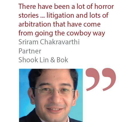 Sriram Chakravarthi Partner Shook Lin & Bok