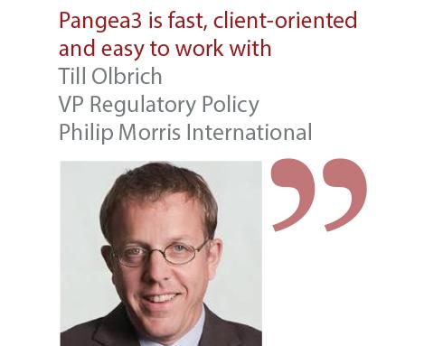 Till Olbrich VP Regulatory Policy Philip Morris International