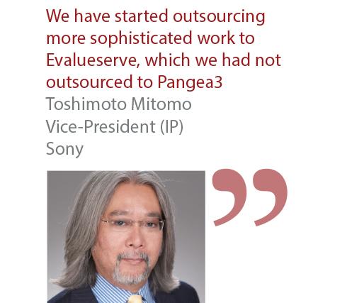 Toshimoto Mitomo Vice-President (IP) Sony