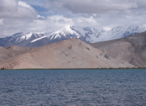 Breathtaking views: A shot of Karakul Lake against the Mustagata mountains in Xinjiang, China, taken by Priti Suri.