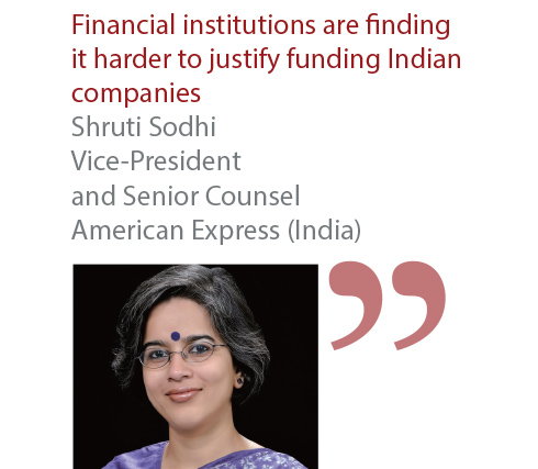 Shruti Sodhi Vice-President and Senior Counsel American Express (India)