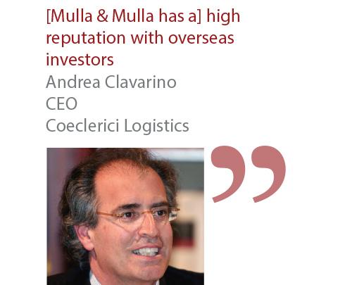 Andrea Clavarino CEO Coeclerici Logistics