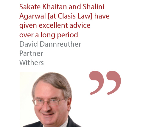 David Dannreuther Partner Withers