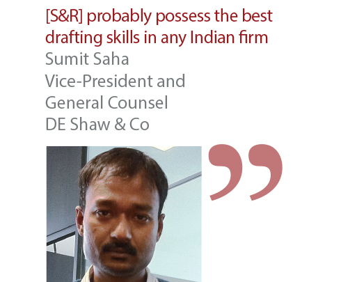 Sumit Saha Vice-President and General Counsel DE Shaw & Co