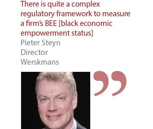 Pieter Steyn Director Werskmans