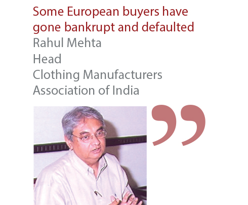 Rahul Mehta Head Clothing Manufacturers Association of India