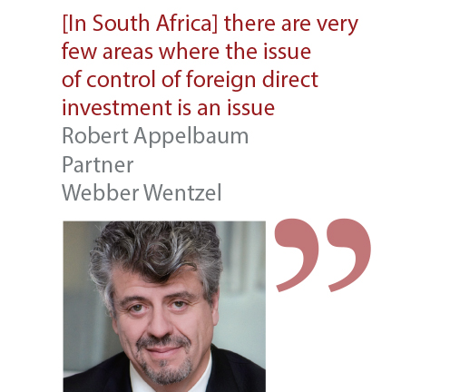 Robert Appelbaum Partner Webber Wentzel