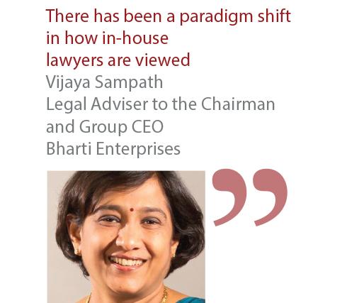 Vijaya Sampath Legal Adviser to the Chairman and Group CEO Bharti Enterprises