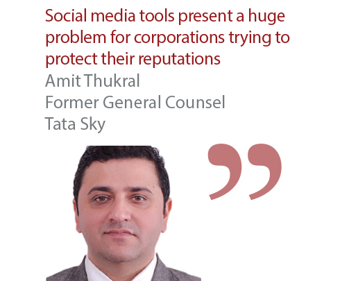 Amit Thukral Former General Counsel Tata Sky