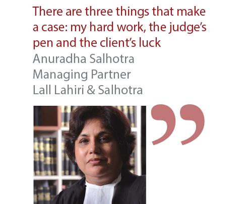 Anuraha Salhotra Managing Partner Lall Lahiri & Salhotra