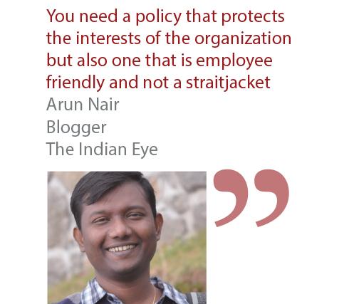Arun Nair Blogger The Indian Eye