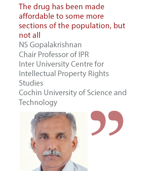 NS Gopalakrishnan Chair Professor of IPR Inter University Centre for Intellectual Property Rights Studies Cochin University of Science and Technology