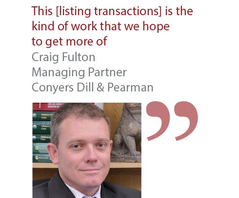 Craig Fulton Managing Partner Conyers Dill & Pearman