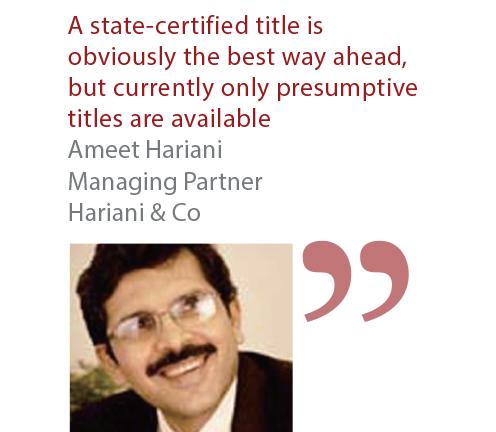 Ameet Hariani Managing Partner Hariani & Co