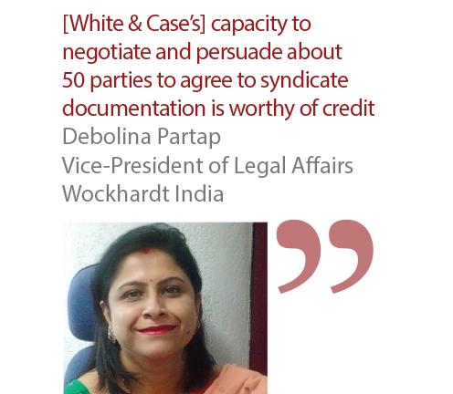 Debolina Partap Vice-President of Legal Affairs Wockhardt India