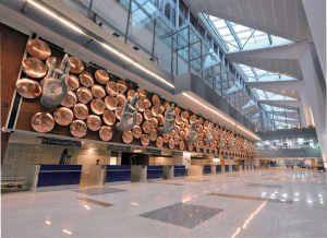 Redevelopment at great cost: A 345% increase in aeronautical charges at Delhi airport has been greatly criticized.