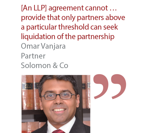 Omar Vanjara Partner Solomon & Co