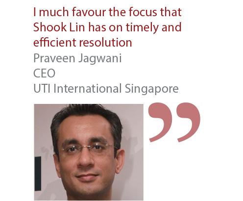 Praveen Jagwani CEO UTI International Singapore