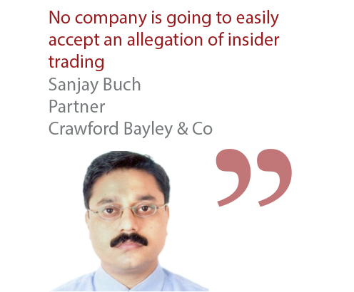 Sanjay Buch Partner Crawford Bayley & Co