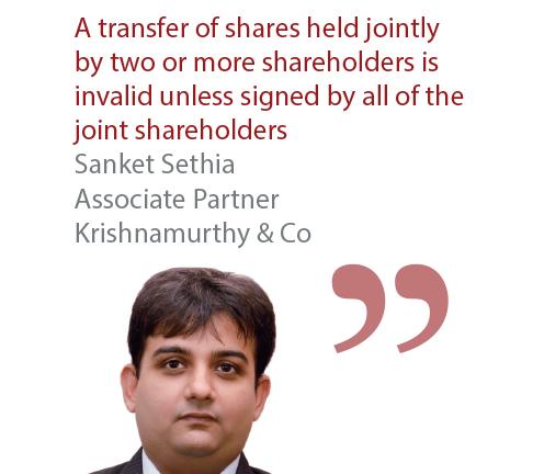 Sanket Sethia Associate Partner Krishnamurthy & Co