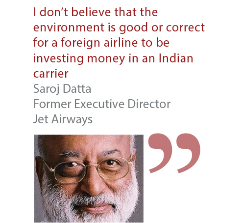 Saroj Datta Former Executive Director Jet Airways