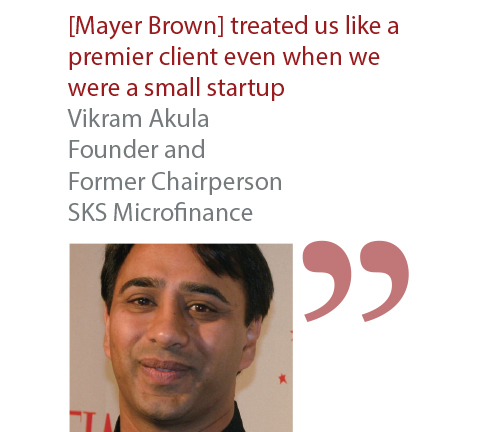 Vikram Akula Founder and Former Chairperson SKS Microfinance