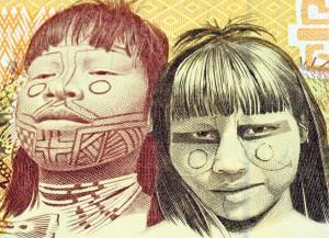 巴西货币上的原住民图像 巴西法律限制外商拥有该国农村土地