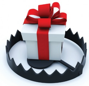 Innocent customs like holiday gifts can be a problem under the FCPA.